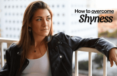 How to Stop Being Shy Image