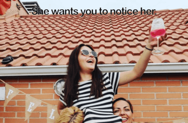 Signs a Girl Wants You to Notice Her Image