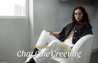 How to Record a Chat Line Greeting Image